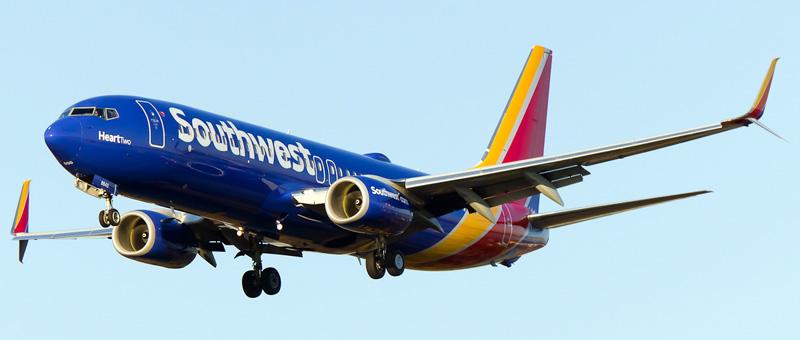 Resultado de imagen para Southwest Airlines Boeing 737-800