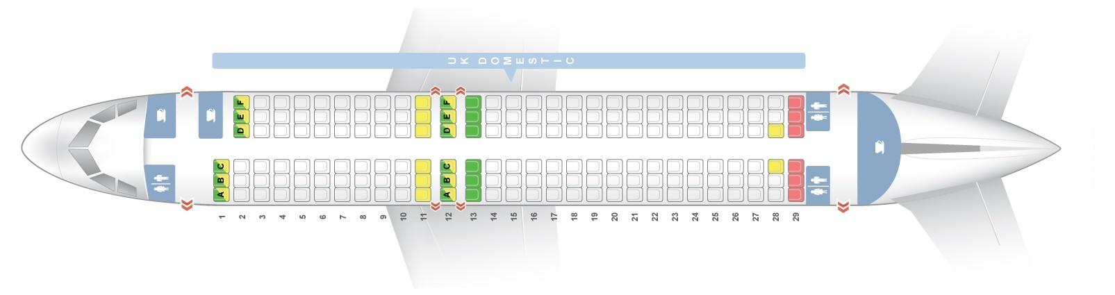Superb Seat Map Airbus A320 200 British Airways Best Seats In Plane Bralicious Painted Fabric Chair Ideas Braliciousco