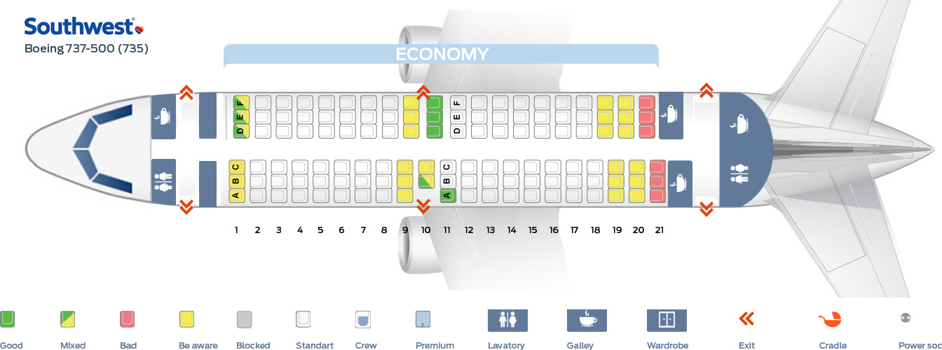 Seat_map_Southwest_Boeing_737_500