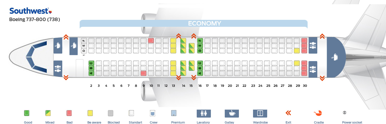 Southwest seat assignment