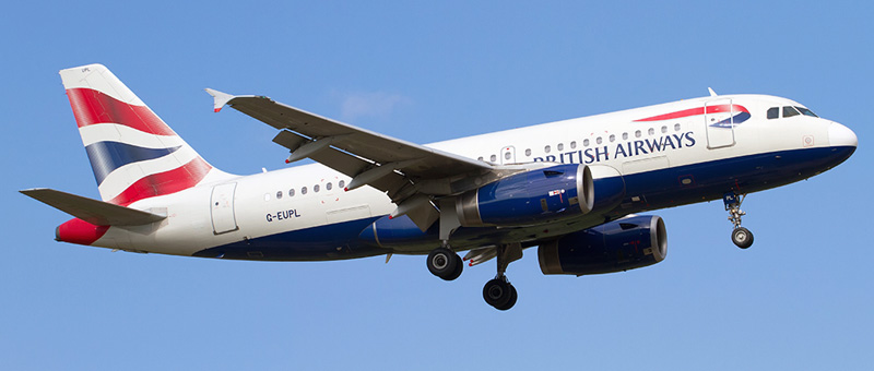Airbus A319-100 British Airways. Photos and description of the plane