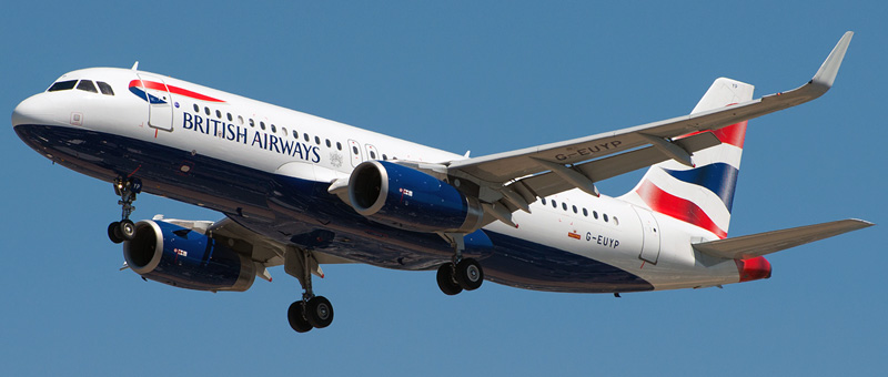 Airbus A320-200 British Airways. Photos and description of the plane