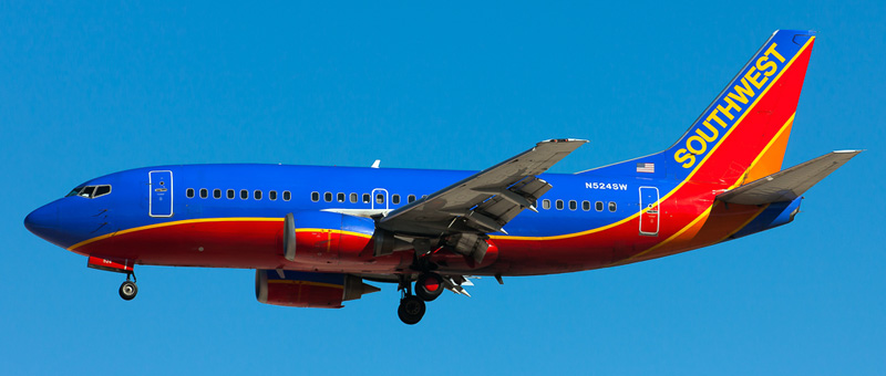 Boeing 737-500 Southwest Airlines. Photos and description of the plane