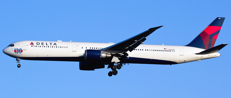Boeing 767-400 Delta Airlines. Photos and description of the plane