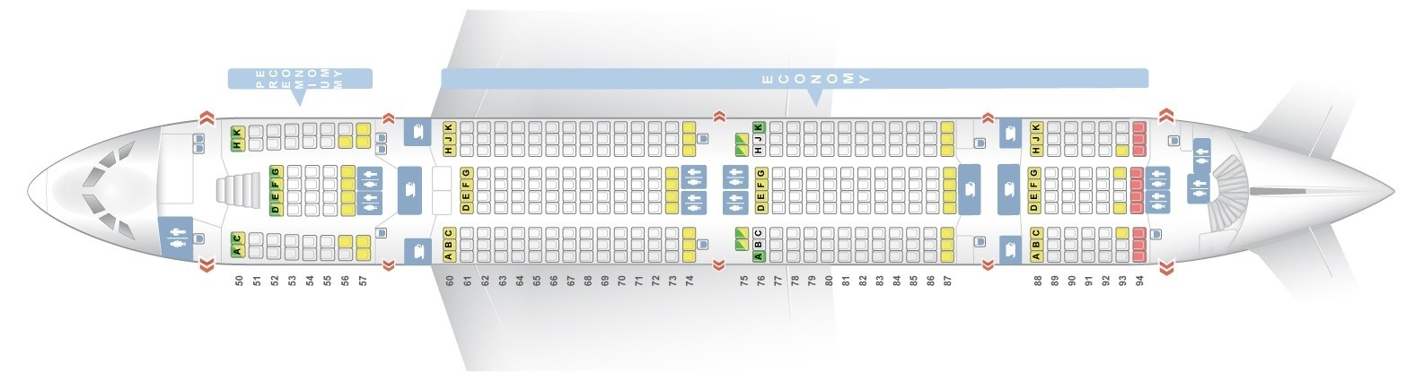 A380 800 Seat Map Seat map Airbus A380 800 Lufthansa. Best seats in plane