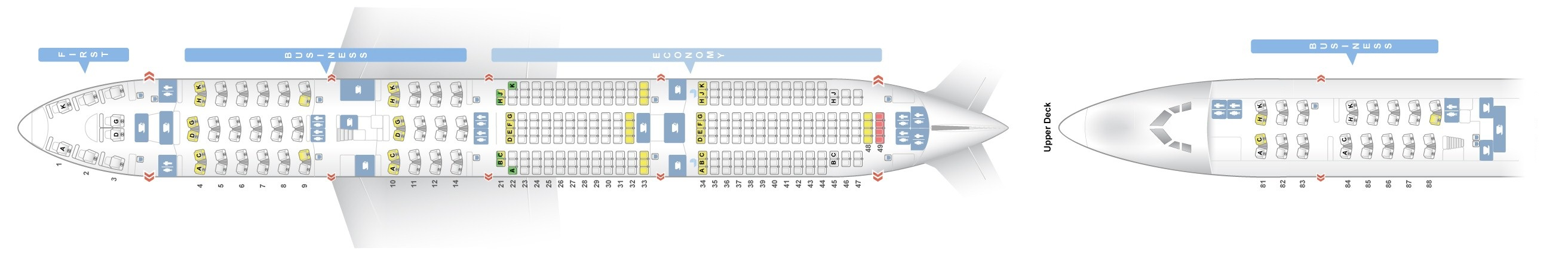 seat map boeing 747 800 lufthansa best seats in plane