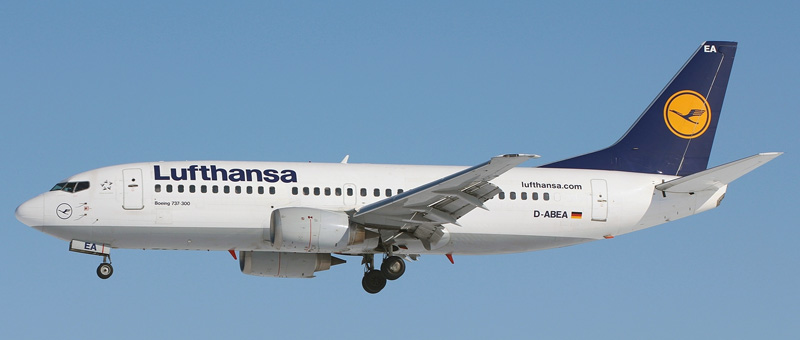 Boeing 737-300 Lufthansa. Photos and description of the plane