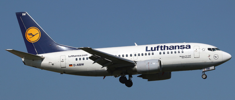 Boeing 737-500 Lufthansa. Photos and description of the plane