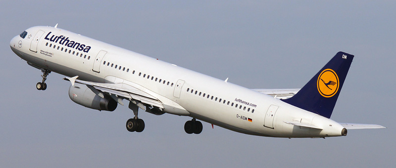 Airbus A321-200 Lufthansa. Photos and description of the plane