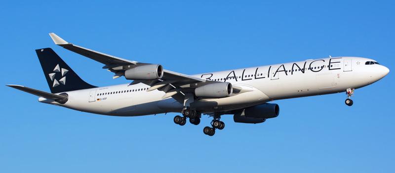 Airbus A340-300 Lufthansa. Photos and description of the plane