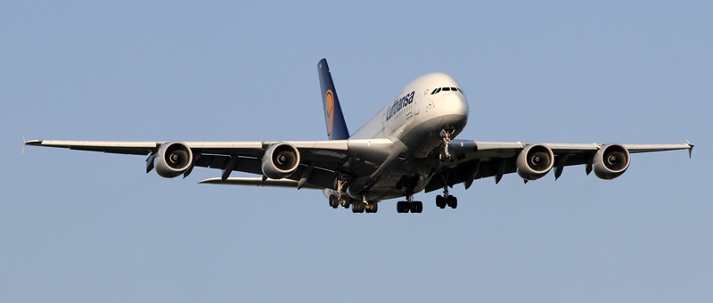 Airbus A380-800 Lufthansa. Photos and description of the plane