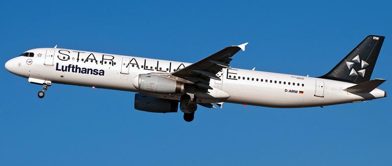 Airbus A321-100 Lufthansa. Photos and description of the plane