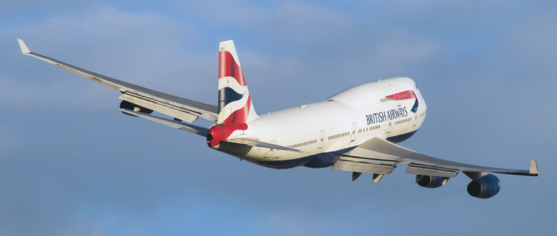 Boeing 747-400 British Airways. Photos and description of the plane
