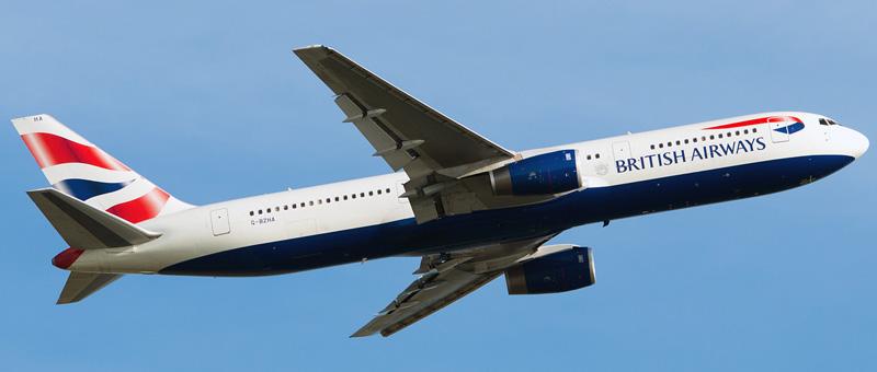 """Seat map Boeing 767-300 """"British Airways"""". Best seats in the plane"""