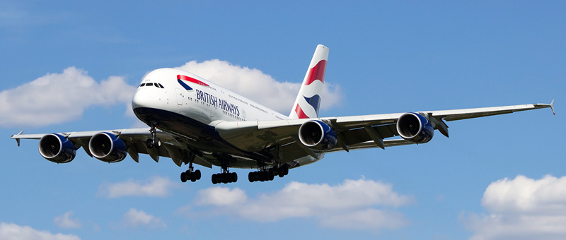 Airbus A380-800 British Airways. Photos and description of the plane