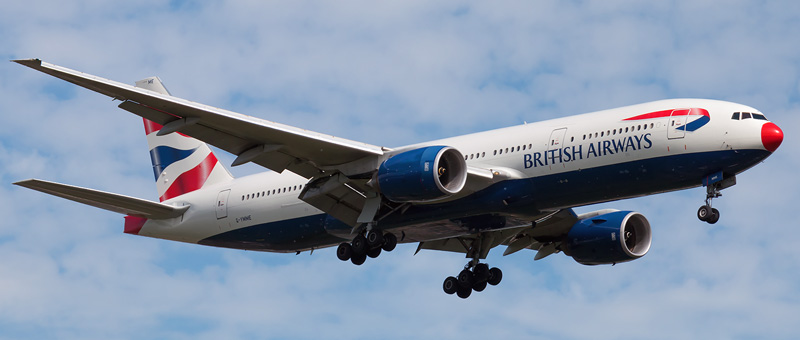 Boeing 777-200 British Airways. Photos and description of the plane