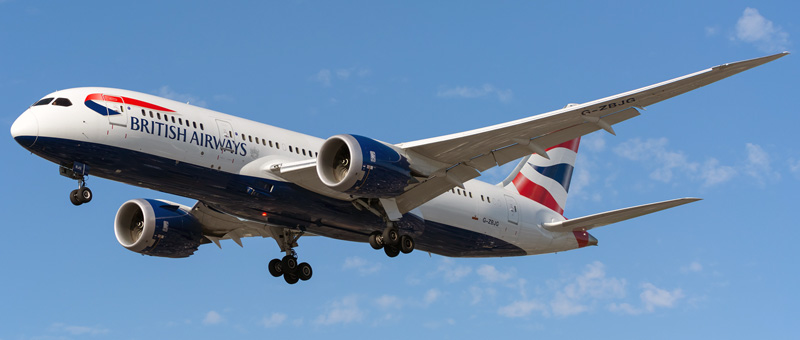 Boeing 787-8 British Airways. Photos and description of the plane