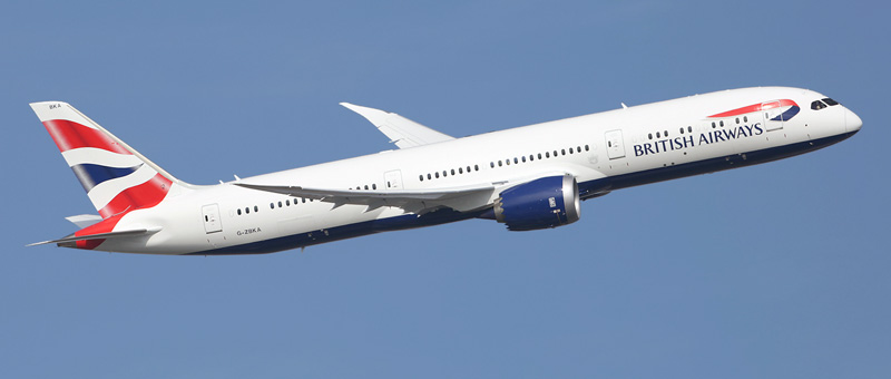 Boeing 787-9 British Airways. Photos and description of the plane