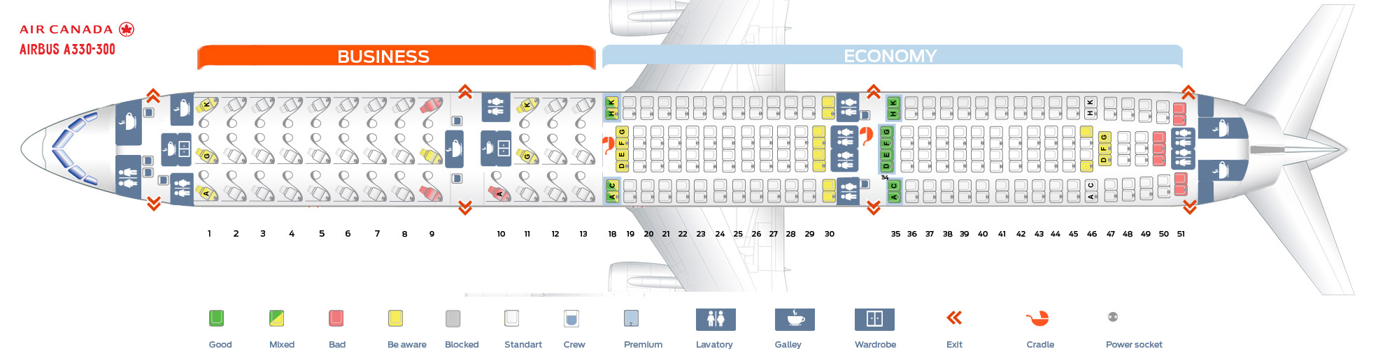 Seat_map_Air_Canada_Airbus_A330-300