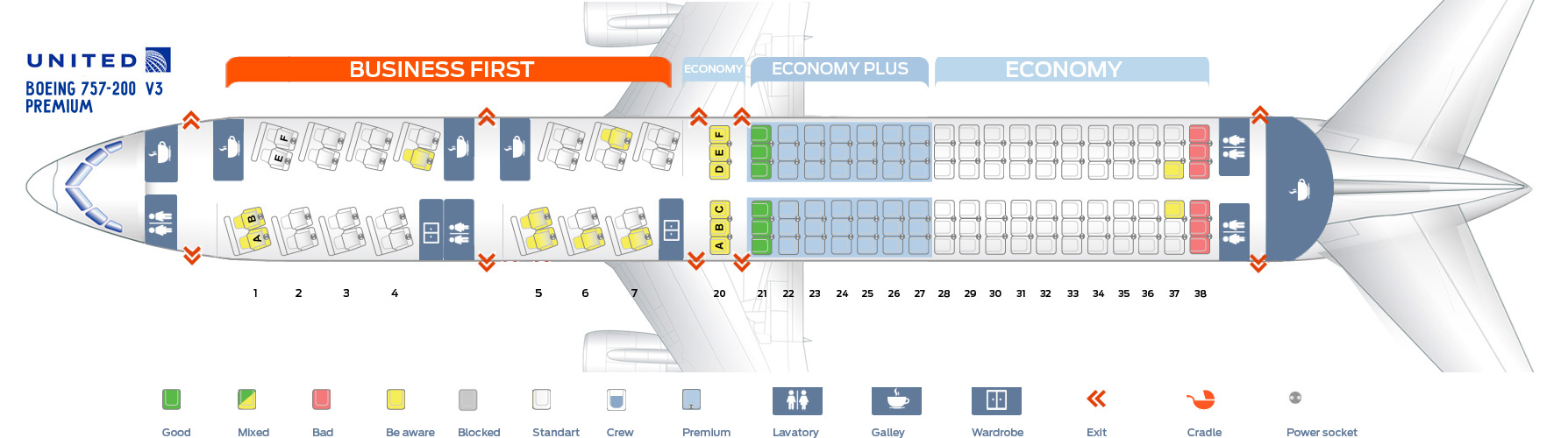 Boeing 777 200 Seat Map United Airlines Www