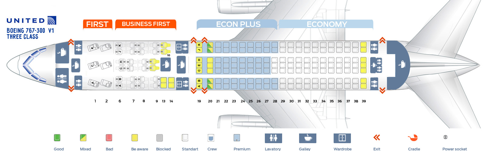 Seat_map_United_Airlines_Boeing_767_300_v1