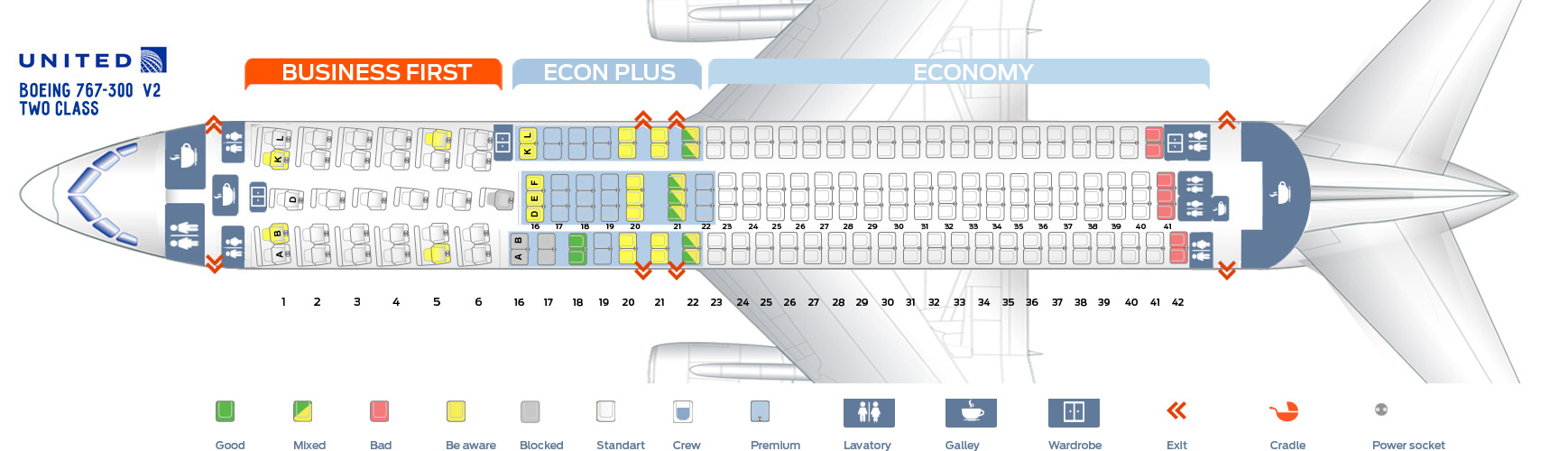 Boeing 763 Seat Map Images Reverse Search