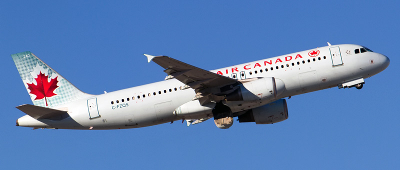 """Seat map Airbus A320-200 """"Air Canada"""". Best seats in the plane"""