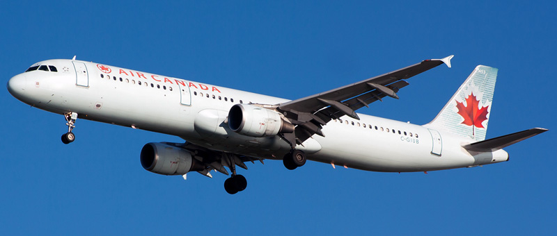 Airbus A321-200 Air Canada. Photos and description of the plane