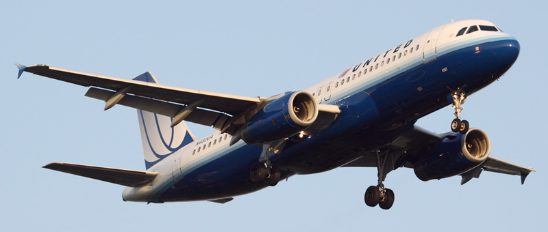 Airbus A320-200 United Airlines. Photos and description of the plane