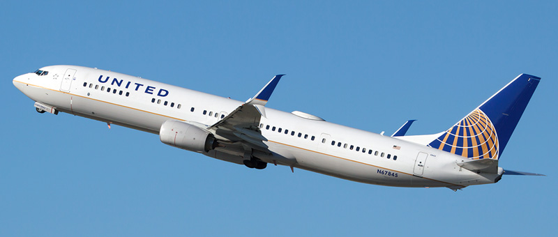 Boeing 737-900 United Airlines. Photos and description of the plane