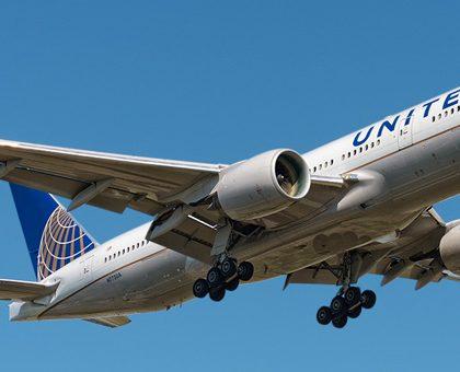 ... map Boeing ... United Airlines 777 Interior