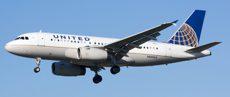 Airbus A319-100 United Airlines. Photos and description of the plane