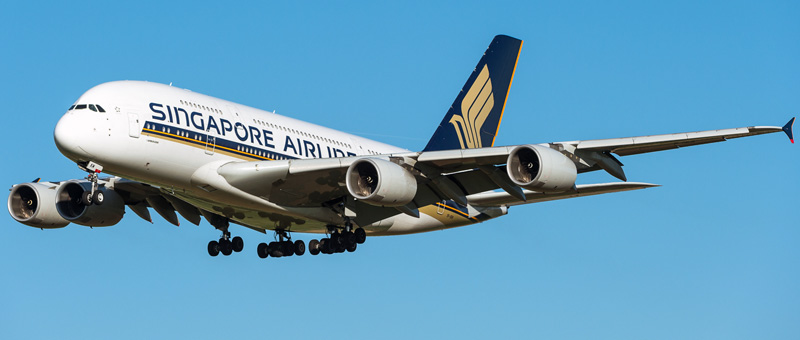 Airbus A380-800 Singapore Airlines