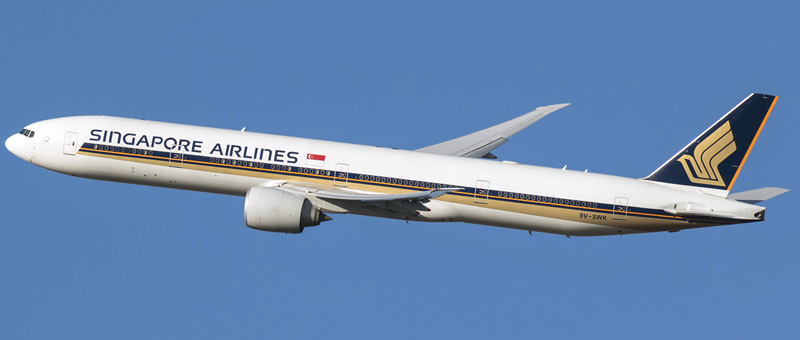 Boeing 777-300 Singapore Airlines