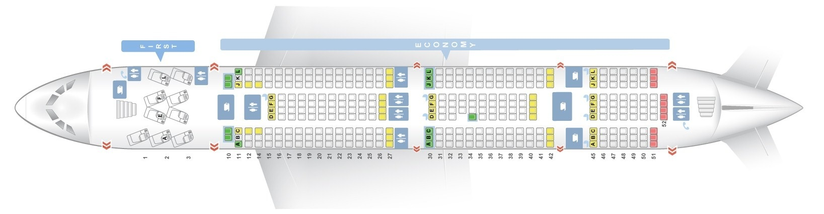 A380 800 Seat Map Seat map Airbus A380 800 Air France. Best seats in plane