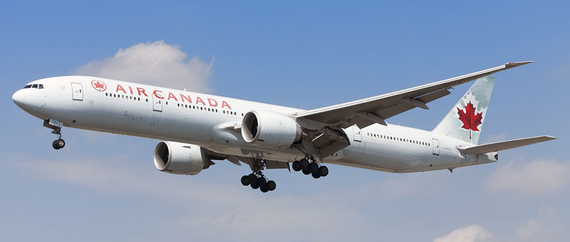 Boeing 777-300 Air Canada. Photos and description of the plane
