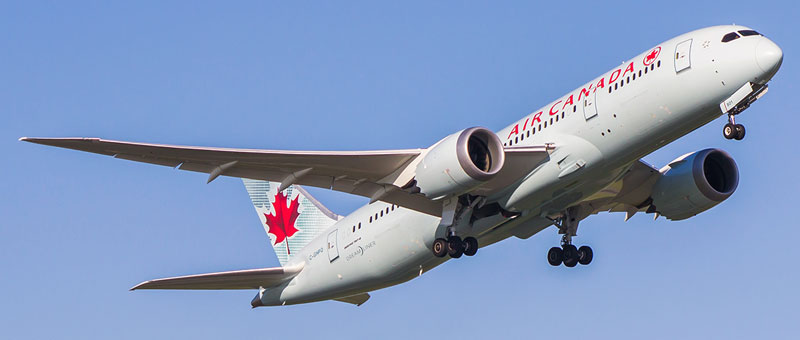 Boeing 787-8 Dreamliner Air Canada. Photos and description of the plane