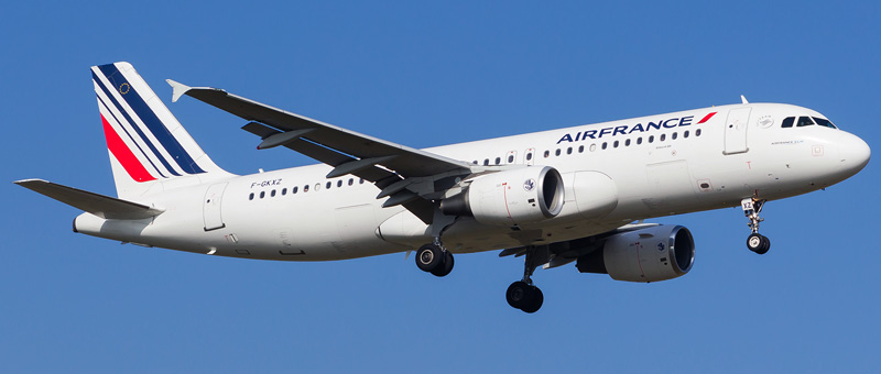 Airbus A320-200 Air France. Photos and description of the plane