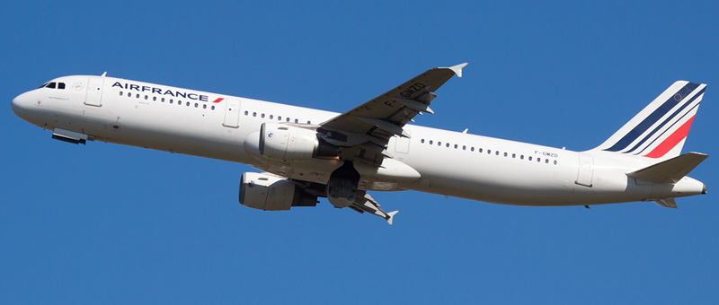 Airbus A321-100 Air France. Photos and description of the plane