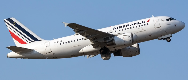 Airbus A319-100 Air France. Photos and description of the plane