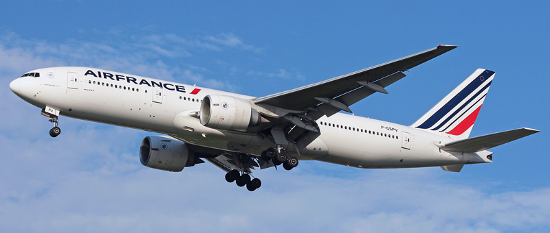 Boeing 777-200 Air France. Photos and description of the plane