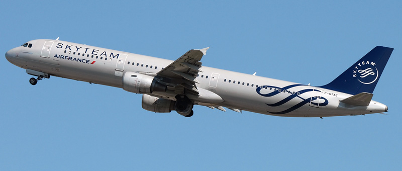 Airbus A321-200 Air France. Photos and description of the plane