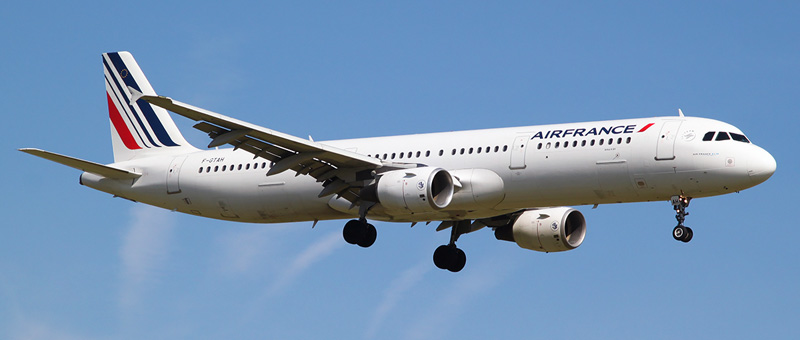 """Seat map Airbus A321-200 """"Air France"""". Best seats in the plane"""