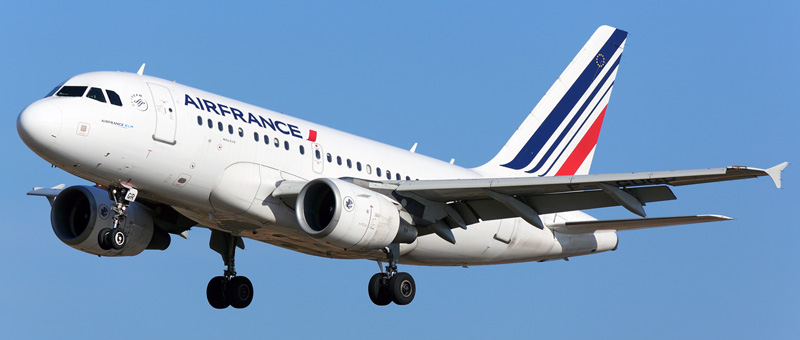 Airbus A318-100 Air France. Photos and description of the plane