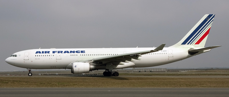 """Seat map Airbus A330-200 """"Air France"""". Best seats in the plane"""