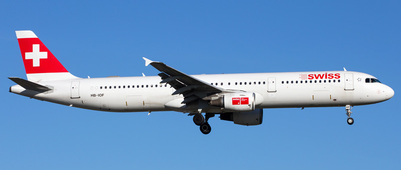 Airbus A321-100 Swiss Airlines. Photos and description of the plane