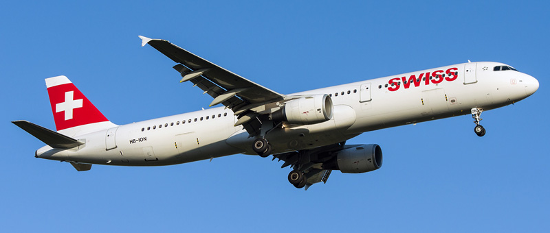 Airbus A321-200 Swiss Airlines. Photos and description of the plane