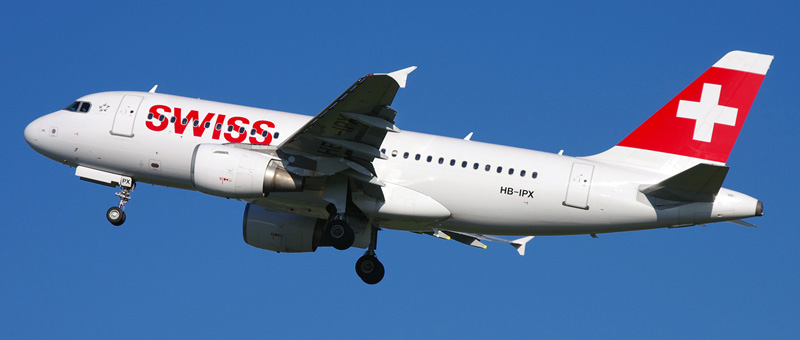 Airbus A319-100 Swiss Airlines. Photos and description of the plane