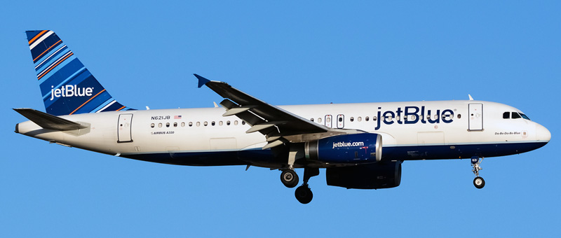 JetBlue Airways Airbus A320-232 n621jb