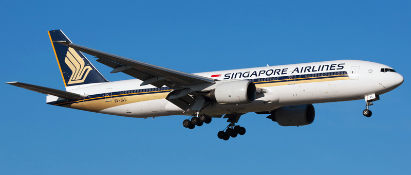Boeing 777-200 Singapore Airlines. Photos and description of the plane